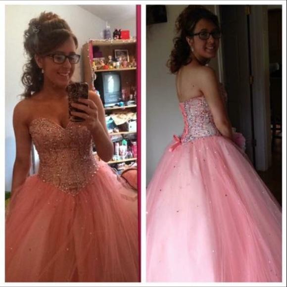 Dresses | Light Pink Ball Gown Prom Dress | Poshmark